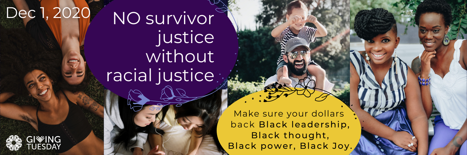 #Giving Tuesday No Survivor Justice without Racial Justice