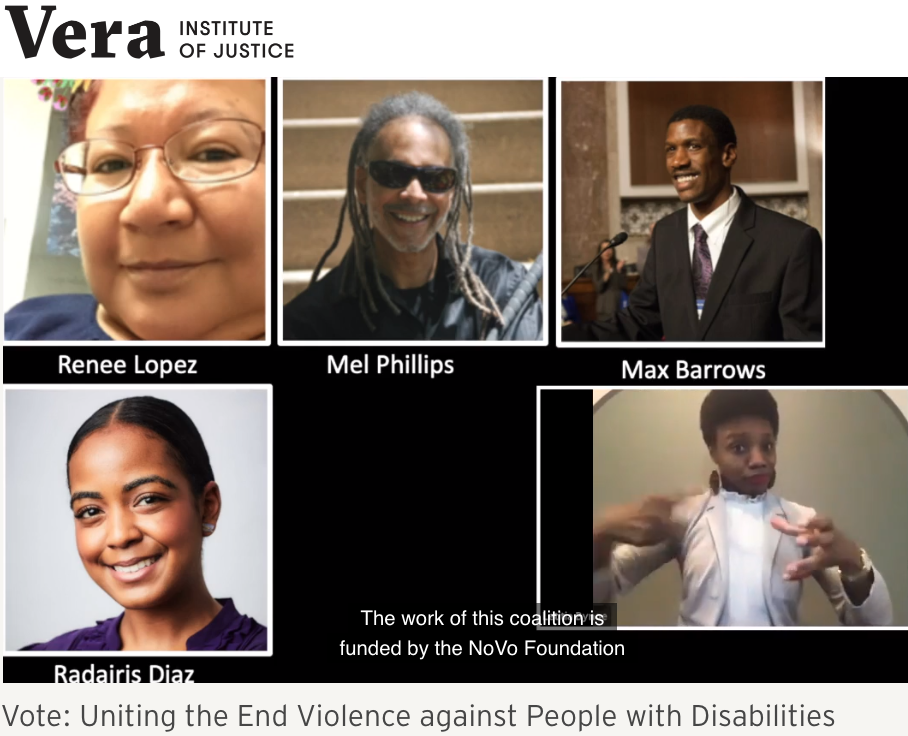 Vote: Uniting the End Violence against People with Disabilities