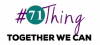 #1thing logo plus the words: Together we can